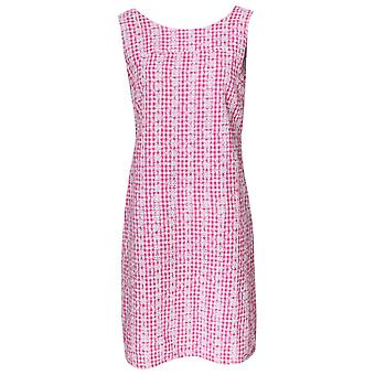 Alice Collins Pink Embroidered Sleeveless Sun Dress