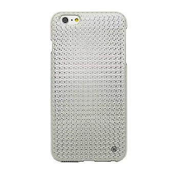 iPhone 6/6s Plus - 5.5 Inch Diamond Cut TPU Case Silver