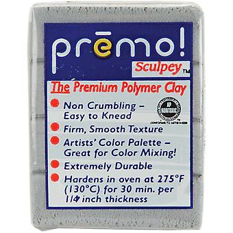 Premo Sculpey Polymer Clay 2 Ounces Silver Pe02 5129