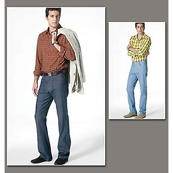 Men's Jeans  Nv 30  32  34  36 Pattern V8801  Nvv