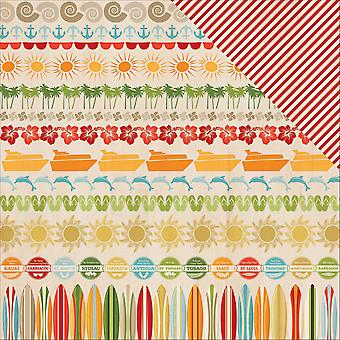 Beach Therapy Double-Sided Cardstock 12