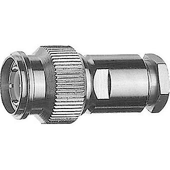 TNC connector Plug, straight 50 Ω Telegärtner J01010A2610 1 pc(s)