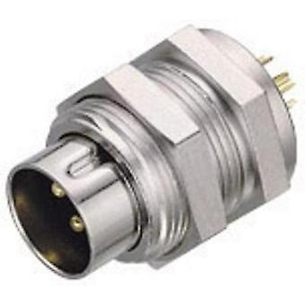 Binder 09-0077-00-03 09-0077-00-03 Sub-micro Circular Connector Nominal current: 4 A Number of pins: 3
