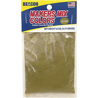 Makers-Mix Stepping Stone Colorant .5oz-Olive MMC-O5OZB