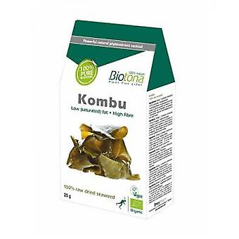 Biotona Kombu 25g Bio (Dietetics and nutrition , Herbalist's , Plants and seeds packed)