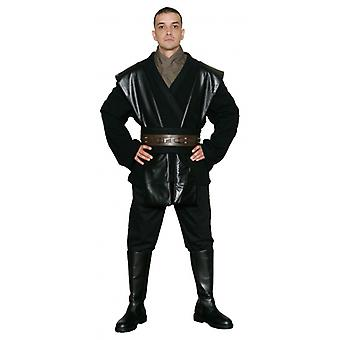 Star Wars Anakin Skywalker Sith / Jedi kostuum zwart - Body tuniek alleen - Replica Star Wars kostuum