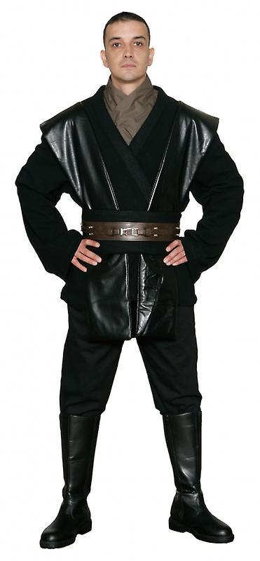 Star Wars Anakin Skywalker Sith / Jedi Costume in Black - Body Tunic Only - Replica Star Wars Costume