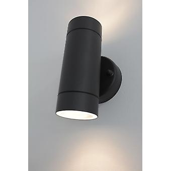 Effect lamp Wall lamp UPDown round darkgrey 2xGU10 IP44 10641