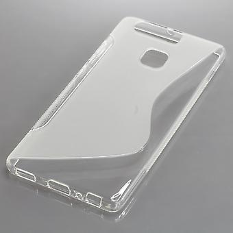 Mobile case TPU case for Huawei P9 transparent