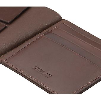 Replay purse wallet purse Leather Brown 4568