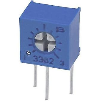 Bourns 3362W-1-102LF Trimming Potentiometer THT 3362 0.5W Fixed Adjustable sidewise 1 kΩ 0.5 W ± 10 %