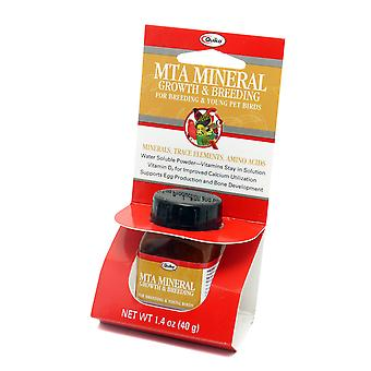 Quiko Bird Mta Mineral Growth & Breeding Supplement 40g