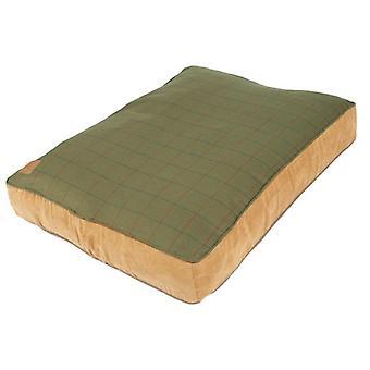 Tweed Green Box dynebetræk store 125x79x14cm