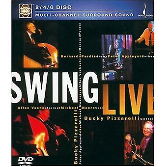 Bucky Pizzarelli - Swing Live [DVD-Audio] USA import