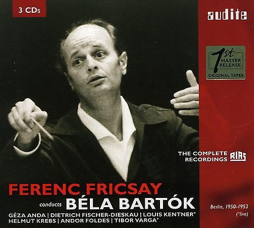 B. Bartok - Ferenc Fricsay Conducts B La Bart K [CD] USA import