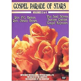 Gospel Parade of Stars, Vols. 3 & 4 [DVD] USA import