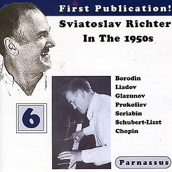 Sviatosiav Richter - Sviatoslav Richter i 1950 ' erne, Vol. 6 [CD] USA importerer