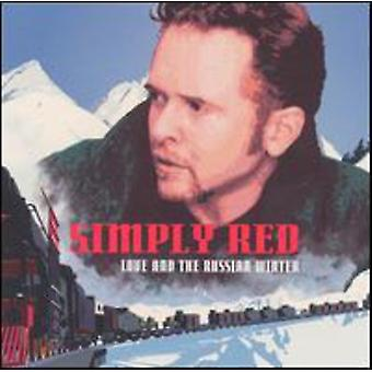 Simply Red - kærlighed & russiske vinter [CD] USA importerer