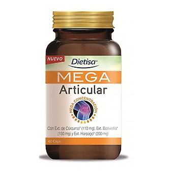 Dietisa Mega Articular 60 Capsules (Vitamins & supplements , Special supplements)