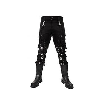 Dead Threads Lace-Up Bondage Pants
