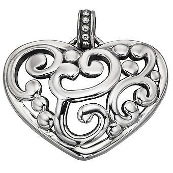 925 d'argento alla moda cuore collana