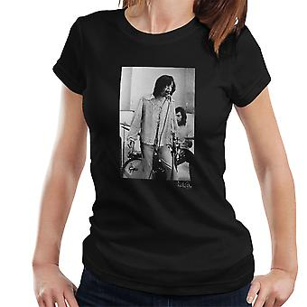 Rolling Stones Mick Jagger Durchführung Damen T-Shirt