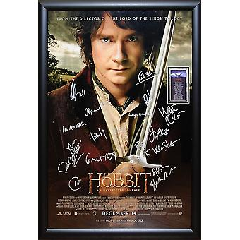 The Hobbit - An Unexpected Journey - Signed Movie Poster