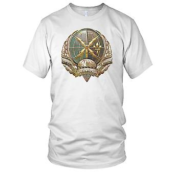 USAF Special Operations Weather Team Grunge Effect Ladies T Shirt