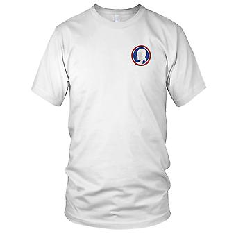 US Army - 111th Regimental Combat Team Embroidered Patch - Ladies T Shirt