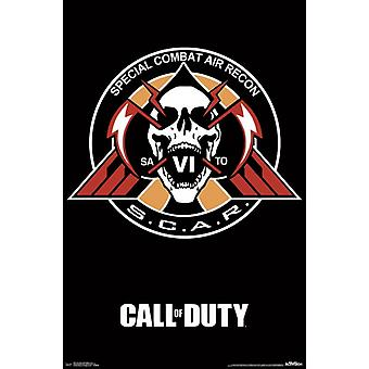 Call of Duty Infinite Warfare - Scar Poster Poster Print