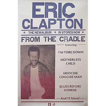 Eric Clapton From the Cradle Poster
