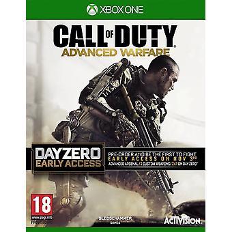 Call of Duty avanceret krigsførelse - dag nul Edition Xbox ét spil