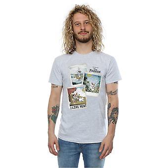 Disney Men's Frozen Olaf Polaroid T-Shirt