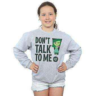 Disney Girls Inside Out Don't Talk To Me Sweatshirt