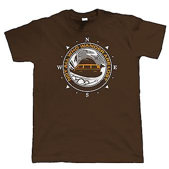 Niet alle Who Wander Are Lost Campervan T-Shirt