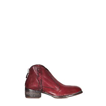 MoMA ladies 310014008 Burgundy leather ankle boots