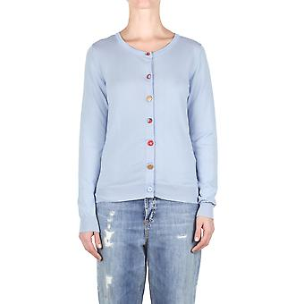Jucca ladies J2711301 light blue cotton Cardigan