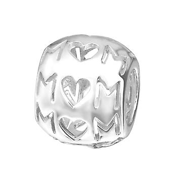 Maman - 925 Sterling Silver plaine Beads - W22703X