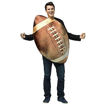 Get Real Football Sports NFL Footy Match Comical Womens Mens Costume OS