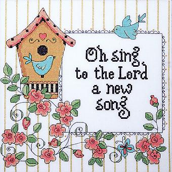 Heartfelt A New Song Counted Cross Stitch Kit-10