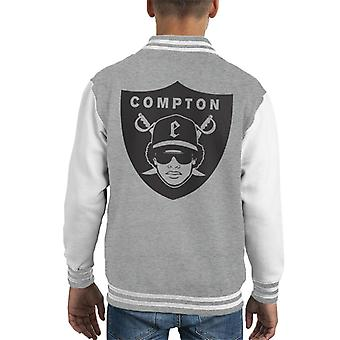 Compton Raders Oakland Football Mix Kid's Varsity Jacket