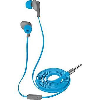 Trust Aurus Sports Headphones In-ear Headset, Sweat-resistant, Water-resistant Blue