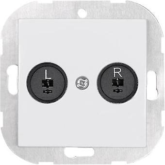 Sygonix Insert Speaker SX.11 Sygonix white, (glo