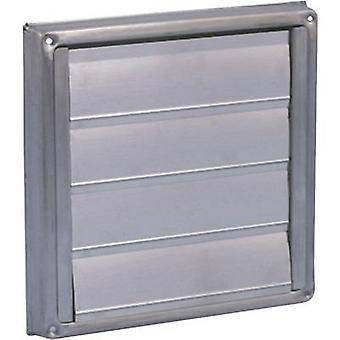 Wallair N34853 ventilatorgitter rustfrit stål egnet til rørdiameter: 12,5 cm