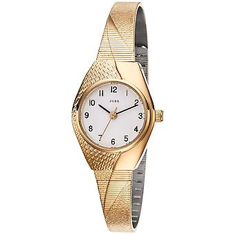 JOBO damer wrist watch kvarts analog Guld belagte Dameur