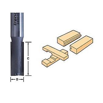 Trend 3/8 X 1/4 Tungsten Carbide Two Flute Cutter
