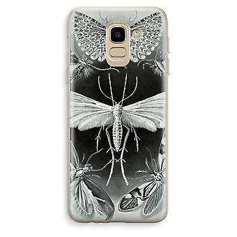 Samsung Galaxy J6 (2018) Transparent Case (Soft) - Haeckel Tineida