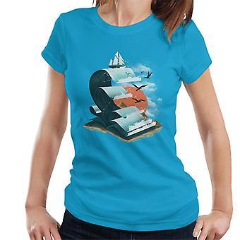 Book Of Waves Women's T-Shirt