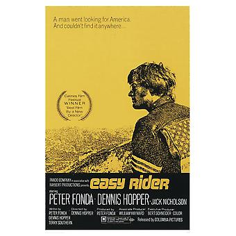 Easy Rider poster U.S. one-sheet (yellow)