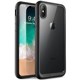 iPhone Xs Max case, [Unicorn Beetle Style] Premium Hybrid Protective Clear Case 2018 Release (Black)